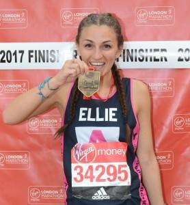 DMSL Ellie Childs London Marathon 2017
